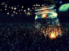 canning granny lightning bugs in a jar