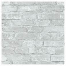 imitation brique blanche papier peint imitation de briques 20 5 quot x 18 gris blanc