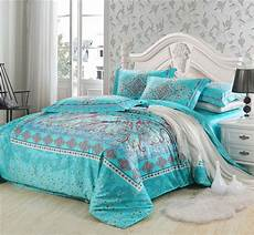 Turquoise Duvet Cover by 100 Staple Cotton Bedding Sets Butterfly