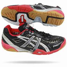 Kasut Badminton Asics Gel all about badminton equipment v4