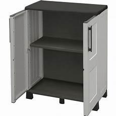 armadietto esterno armadio basso in resina maurer pratiko store