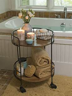 Bathroom Table Storage by 34 Best Towel Storage Ideas And Designs For 2019