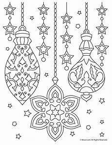 Malvorlagen Weihnachten Kugeln Ornaments Coloring Printable Woo Jr