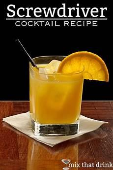 screwdriver mix that drink