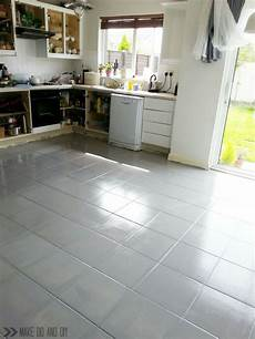 How To Paint Kitchen Tiles Before And After by How To Paint A Tile Floor And What You Should Think About