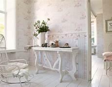 schnell und einfach tapeten tapete landhaus blumen creme rosa gr 252 n djooz 95667 1 mit