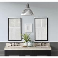 bathroom mirror wood ronbow contemporary solid wood framed bathroom mirror