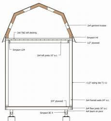 small gambrel house plans micro gambrel plans gambrel frames on wall tiny house plan