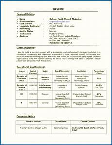 resume of a teacher india teachers resume format india professor resume sle india grade for