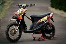 Mio Grasstrack by Modifikasi Mio Grasstrack Modifikasi Motor Kawasaki