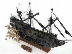 zhl all scenario version of the black pearl ship model kits