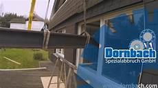 Sturz Einbauen Außenwand - wanddurchbruch mit 6 m stahltr 228 ger 1000 kg gewicht in