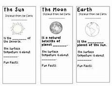 science worksheets earth sun moon 12190 sun moon and earth cut out foldable by susannahhb tpt