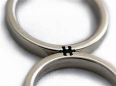 wedding rings that only make sense when you fit them together metro news
