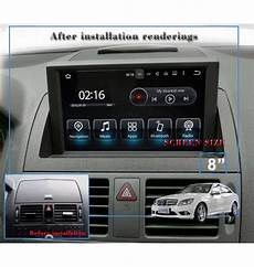 autoradio android 6 1 gps bluetooth mercedes classe c w204