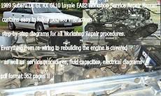 electric and cars manual 1989 subaru leone electronic toll collection subaru leone loyale ea82 service repair manual download tradebit