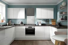 soho gloss white kitchen modern style range benchmarx