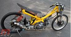 Yamaha Crypton Modif by Dunia Racing Modifikasi Yamaha Crypton Drag Bike 26 7 Dk