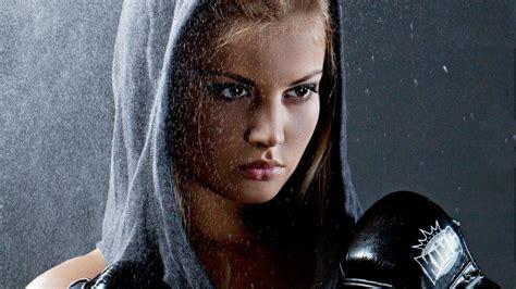 Hooded Female Warrior