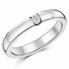 triple titanium cz bridal engagement eternity and
