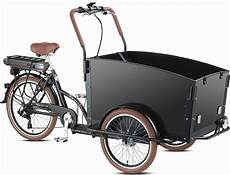 electric bakfiets e troy cargo family bike 6 speed shimano