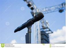 wireless microphone stands wireless microphone stand on the venue stock photo image of background outdoor 62796950