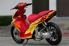 Modifikasi Motor Skywave by Motor Sport Suzuki Skywave Colourfull Modifications