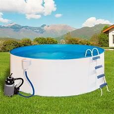 pool 5m durchmesser mypool pool komplettset premium seerose durchmesser 350