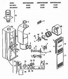 Coleman Evcon Ind Furnace Parts Model Dgrt070aua