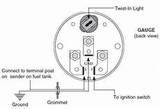 How To Install Auto Meter Voltmeter Electrical