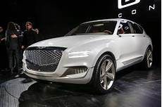 genesis luxury brand expands with gv80 suv concept motor trend