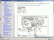 online service manuals 2004 ford freestar spare parts ford usa technical services 2004 2005