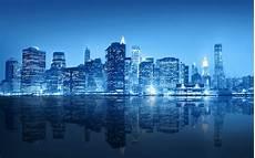 free wallpaper new york city skyline new york city blue skyline wallpaper free desktop
