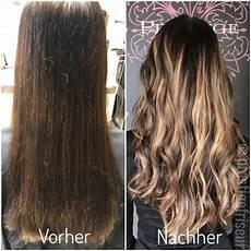 balayage braun blond lang lange haare ombre dein premium