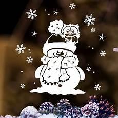 kleine fenster kaufen fensterbild quot kleine winter eule mit schneemann und