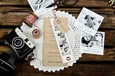 Hochzeitskarten Selber Machen - kraftpapier hochzeitspapeterie im country stil mit rotem