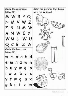 letter w worksheets for pre k 23711 letter w worksheet worksheet free esl printable worksheets made by teachers