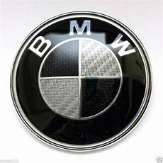purchase lot of 10 bmw roundel emblem badge 82mm black