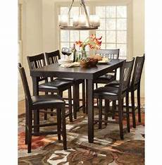 Kitchen Table Sets Michigan by 7 Dining Set Gathering Height Dining Rooms