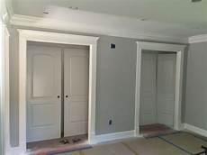 mbr closets walls bm matte stonington gray trim bm