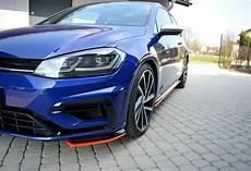 Front Splitter V 8 Vw Golf 7 R Facelift Textured Our
