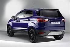 2015 Ford Ecosport Facelift Deletes Exterior Spare Wheel