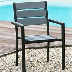 ensemble jardin aluminium floride ensemble table de jardin 160 cm 2 fauteuils 4