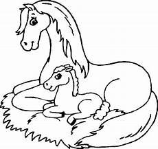 Malvorlage Pferd Zum Ausdrucken Ausmalbilder Pferde Mit Fohlen Kostenlos Malvorlagen Zum