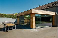 extension maison bois extension en ossature bois namur li 232 ge