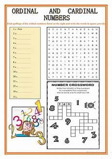 ordinal and cardinal numbers worksheet free esl printable worksheets made by teachers