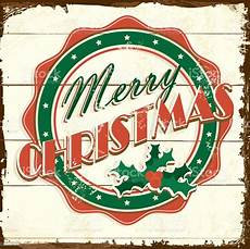 merry christmas vintage wooden painted sign greeting design with message stock vector art more