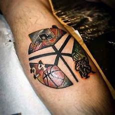 40 basketball tattoos for men masculine design ideas