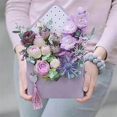 Flower Box 5pcs set envelope flower gift box lovely hold