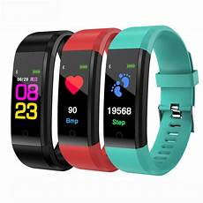 Bakeey 96inch Rate Blood Pressure by Bakeey B05 0 96 Inch Tft Color Display Smart Bracelet